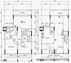Maisonette Floor Plan Floor Plans For Bedok Reservoir Road Hdb Details Srx Property