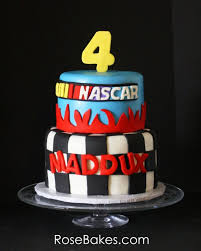 nascar birthday cake rose bakes