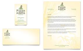 italian pasta restaurant menu template design