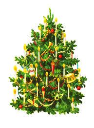 fashioned christmas tree christmas tree clip