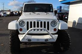 jeep rubicon white white jeep wrangler in new jersey for sale used cars on