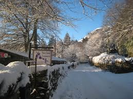grasmere winter wonderland grasmere village english lake district