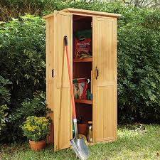 How To Build A Small Storage Shed by Vertical Storage Shed At Brookstone U2014buy Now