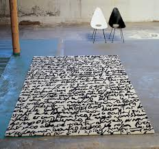 Black And White Modern Rug Manustrit Modern Black White Area Rug By Nani Marquina Nova68