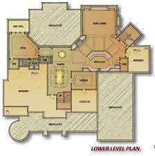 Blueprints For Houses With Basements - baby nursery custom house blueprints custom home blueprints