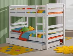 Maroubra King Single Size Double Bunk Flat Pack Furniture - King single bunk beds