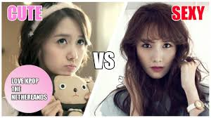 k pop groups cute vs youtube