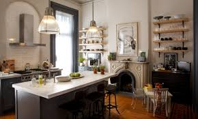 peonies and orange blossoms a kitchen from the movie
