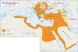Map Of Ottoman Empire 1500 Where Was The Ottoman Empire Ottoman Empire Map 1500 Maps