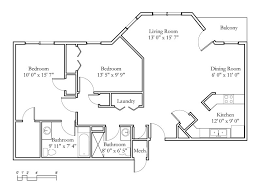 Physical Therapy Clinic Floor Plans Sample Floor Plans Meadowlark Continuing Care Retirement