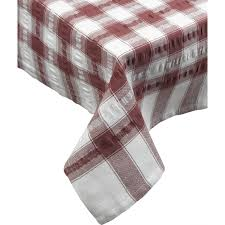 amazon com seersucker oblong rectangle checked tablecloth