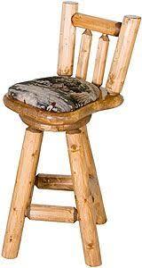 cedar lake half log bar stool log bar stools log furniture and