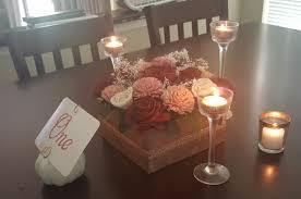 diy sola flower centerpieces weddingbee photo gallery