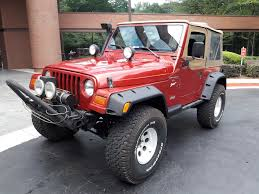 red jeeps used jeep wrangler under 12 000 in georgia for sale used cars