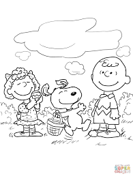 snoopy easter coloring pages alric coloring pages