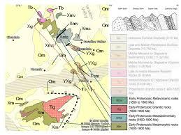 Map Of Phoenix Area by Phoenix Geology