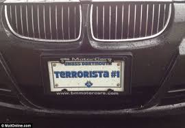 exes license plate frame dzhokhar tsarnaev friends owners of terrorista 1 license plate