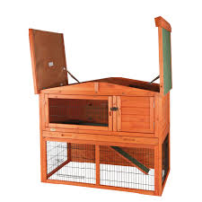 Double Rabbit Hutches Outdoor China Rabbit Hutches With Flat Roof For Pet House Ideas