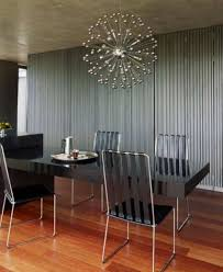 Contemporary Lighting Fixtures Dining Room Luxury Modern Dining Room With Contemporary Lighting Fixture And