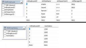 sql select from multiple tables sql select specific columns from two tables stack overflow