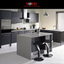 popular melamine mdf board buy cheap melamine mdf board lots from matte grey lacquer kitchen cabinet with an extended island for breakfast