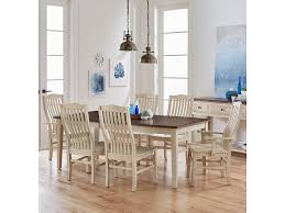 solid cherry dining room set artisan u0026 post simply dining 7 piece solid cherry boat table set