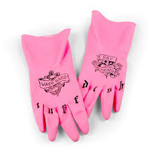 fred friends tuff dish tattooed gloves amazon co uk kitchen home