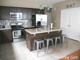 Two Different Colored Cabinets In Kitchen Decorating Cents Two Toned Kitchens
