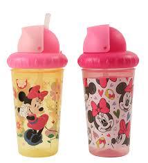 Amazing Mugs by Amazon Com Disney Minnie Mouse 2 Piece Pop Up Straw Infants