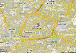 map of mexuco mexico city map tours maps mexico city map