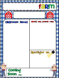 awesome preschool newsletter template pikpaknews