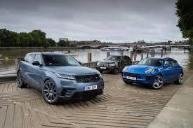 range rover velar vs porsche macan vs bmw x5 auto express