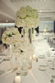 White Floral Arrangements Centerpieces by White Modern Wedding Centrepieces Google Search Serious