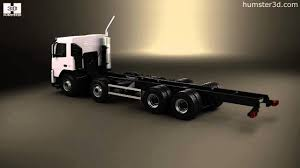 2010 volvo truck volvo fm chassis truck 4 axle 2010 3d model by humster3d com youtube