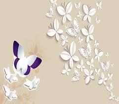 3d butterfly pattern 172 aj wallpaper