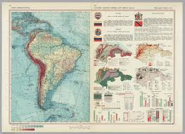 South America Physical Map by South America Physical Colombia Venezuela Trinidad And Tobago