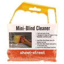 Window Blind Duster Mini 7 Hand Held Microfibre Venetian Blind Brush Window Air