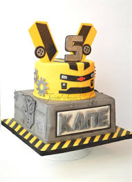 transformers bumblebee and optimus party cake topper an awesome bumblebee transformer cake for my grandson david