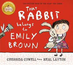 that belongs to emily brown that rabbit belongs to emily brown by cressida cowell books