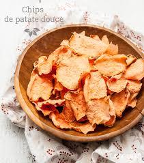 patate douce cuisine recette sans gluten et paléo chips de patate douce