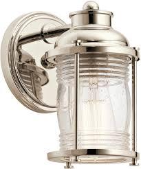 Bathroom Lamps Bathroom Vanity Lights At Lowes Nautical Bathroom Lighting