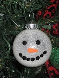 diy snowman ornament crafts and ornaments ideas