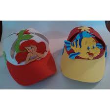 como hacer gorras de fomix del cars gorras foami para fiestas la sirenita minions mickey cars bs 85 0