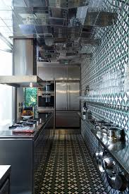 updated kitchen with tiled kitchen kitchen eclectic and glass wall