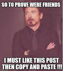 Why Would You Post That Meme - face you make robert downey jr meme imgflip