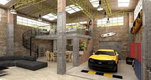 Industrie Lofts 22 Luxurious Garages Perfect For A Supercar Lofts Warehouse And