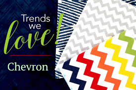 Fabric Trends 2017 Trends We Love Chevron Some Patterns Never Go Out Of Style And