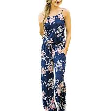casual jumpsuits summer floral print rompers casual jumpsuits