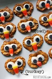 worth pinning pretzel chip turkey heads edible craft