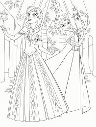 frozen coloring pages kids coloring